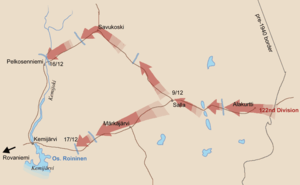 Battle of Salla (1939) - Initial Soviet advance November 30 – December 17