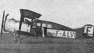 Salmson 2 - Salmson 2 Limousine photo from L'Aéronautique October 1921