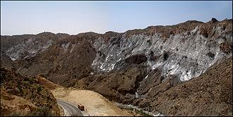 Salt dome - Salt dome in Fars Province, Iran