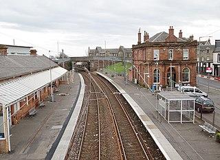 Saltcoats railway station