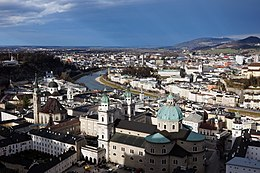 Photo of the city of Salzburg