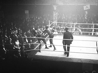 Sam Langford - Sam Langford vs. Joe Jeanette, boxing match, at Luna Park, in Paris, France, in 1913