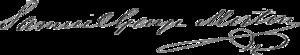 Samuel George Morton - Image: Samuel George Morton signature