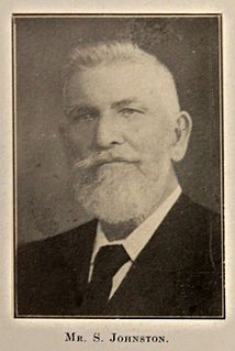 Samuel Johnston (Waterview) Australian businessman