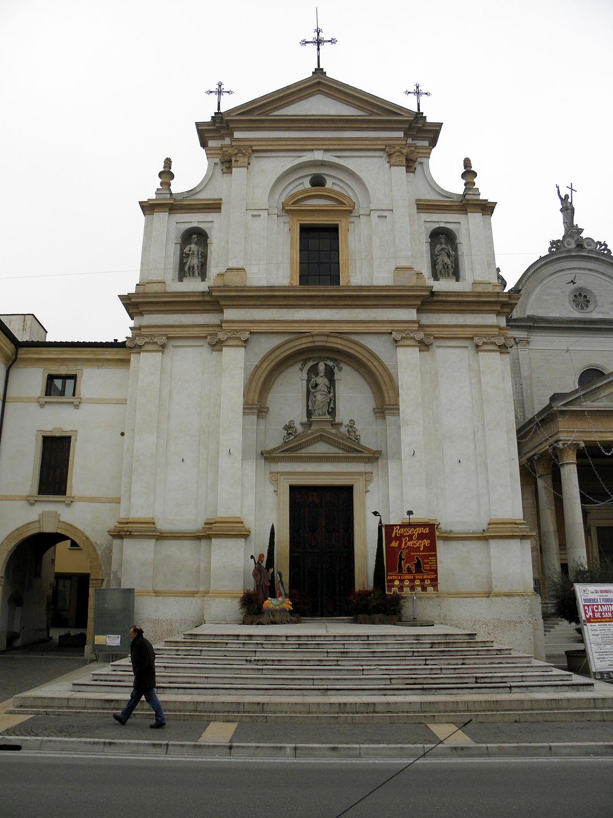 Matrimonio Rustico Chiesa : Chiesa dei santi biagio fermo e rustico wikipedia