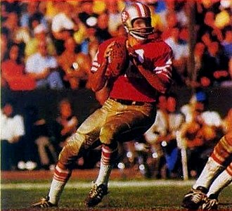 John Brodie - Brodie later in his career with the 49ers circa 1972-73.