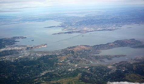 San Francisco Bay from the air in May 2010 01.jpg