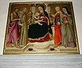 San martino a mensola, interno, Neri di Bicci, madonna e santi.JPG