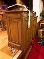 Sanctuary Pulpit, Sylva First United Methodist Church, Sylva, NC (46639302271).jpg