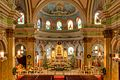 Sanctuary decorated for Christmas, St. Joseph's Polish Catholic Church, Camden.jpg
