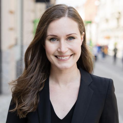 Sanna Marin of Finland, new PM