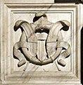 Santa casa, lato destro, stemmi medici di simone cioli, raniero di pietrasanta, francesco del tadda o altri, 03.jpg