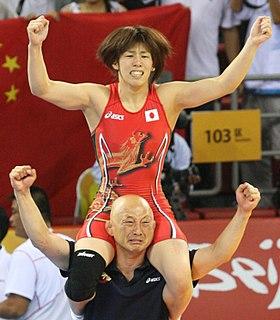 Saori Yoshida Japanese freestyle wrestler