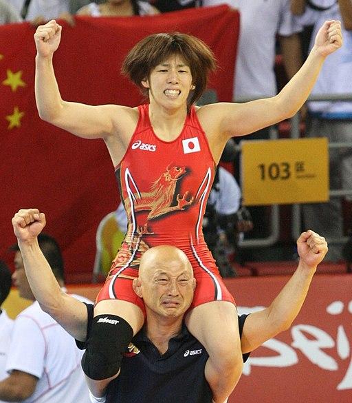 Saori Yoshida (cropped)