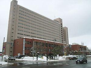 Higashi-ku, Sapporo - Higashi-ku, ward office