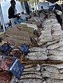 Sausages, Wednesday market, Salon-de-Provence.JPG