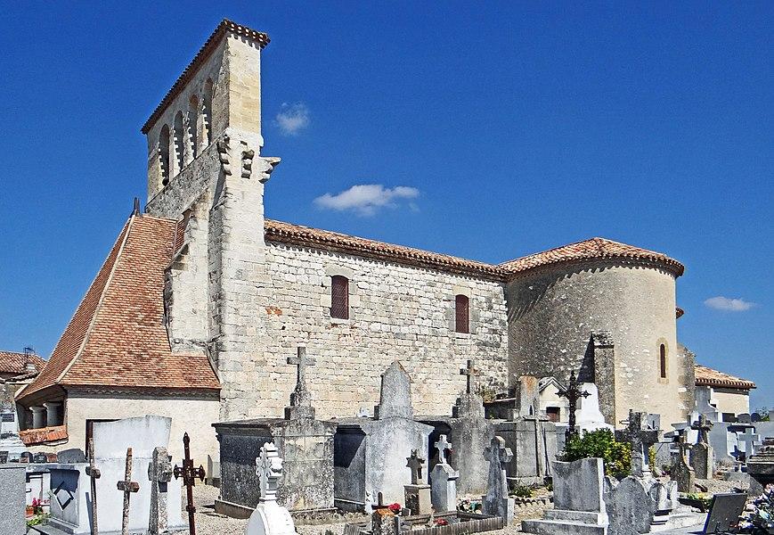Savignac-sur-Leyze - Église Saint-Jean-Baptiste