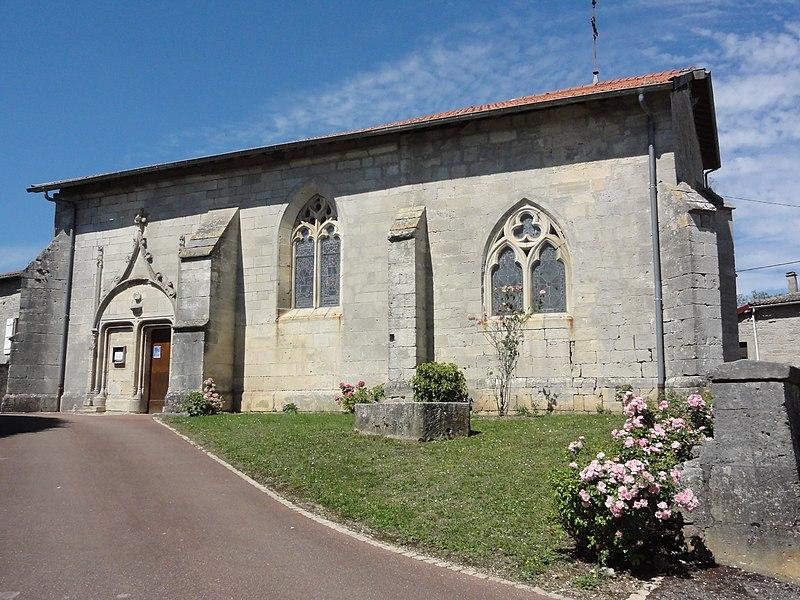Savonnières-en-Perthois (Meuse) église Saint-Maurice