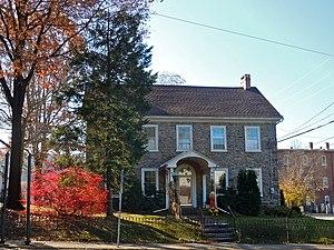Green Lane, Pennsylvania - William and Caroline Schall House on Main Street