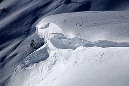 Schneeverwehung 2019 Simplonpass