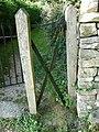 Scissor gate, Duntisbourne Rouse - geograph.org.uk - 1511239.jpg