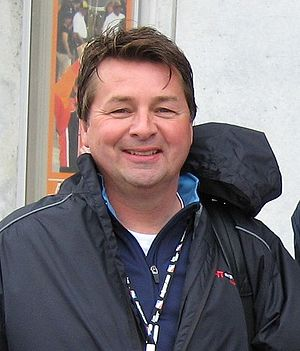 Scott Goodyear - Scott Goodyear at the Indianapolis Motor Speedway in May 2008.