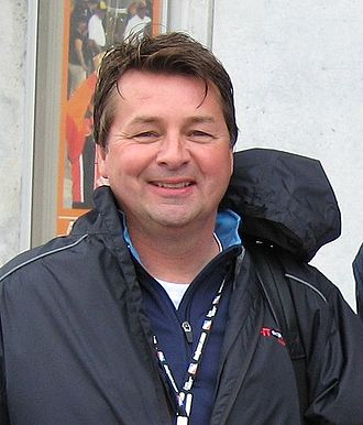 2000 Indy Racing League - Buddy Lazier (left) won his first and only Drivers' Championship while Scott Goodyear (right) finished second in the championship.