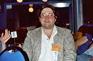 Scott Shaw (artist) -  Shaw at the 1982 San Diego Comic Con