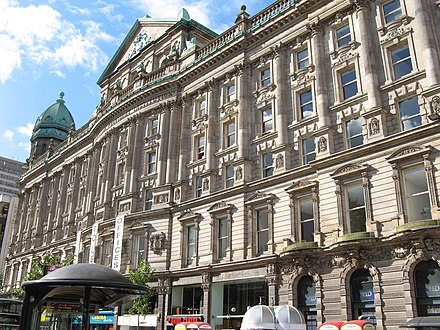 Scottish Provident Institution, an example of Victorian architecture in Belfast Scottish Provident Institution, Belfast.jpg