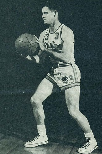 Scotty Steagall - Steagall with the Phillips 66ers.