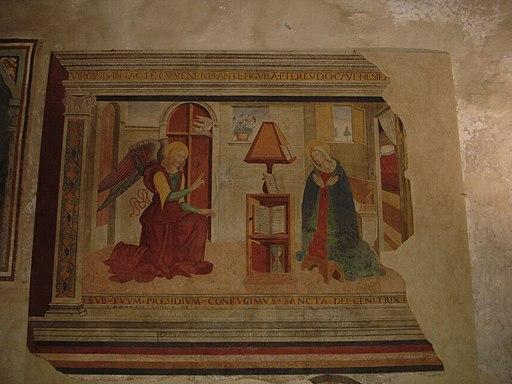 Scuola Ghirlandaio, Annunciazione