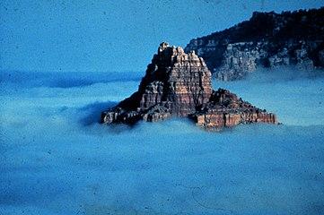 Sea of fog in an Arizona valley - NOAA.jpg