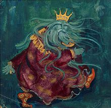 Морской царь. Термин. История 220px-Sea_tsar_by_Sergey_Malyutin