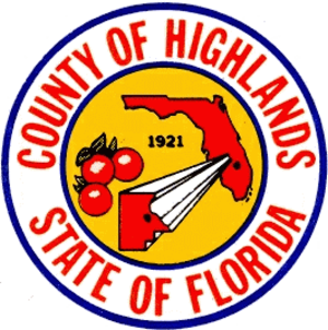 Sebring, Florida - Image: Seal of Highlands County, Florida