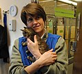 Seattle City Councilmember Sally Clark at Seattle Animal Shelter, 2010-cropped.jpg