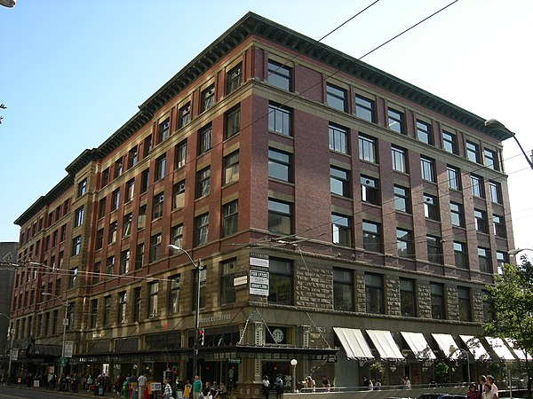 Office buildings on the national register of historic for Furniture bank seattle