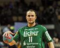 Sebastian Weber Siebenmeter 1 DKB Handball Bundesliga HSG Wetzlar vs HSV Hamburg 2014-02 08 037.jpg