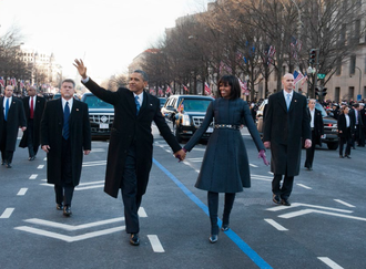 Secret Service agents protecting President Obama and First Lady Michelle Obama Secret Service agents protecting President Obama and First Lady Michelle Obama.png