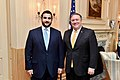 Secretary Pompeo Meets With Saudi Arabian Deputy Defense Minister Prince Khalid bin Salman (32544297477).jpg