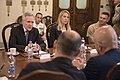 Secretary of the Navy Ray Mabus meets with Italy's Under Secretary of Defense, Gioacchino Alfano (27142323704).jpg