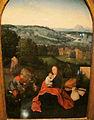 Seguace di joachim patinir, trittico con riposo dalla fuga in egitto, 1500-1550 ca. 03.JPG