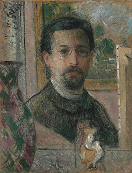 Self-Portrait-with-Statuette Gustave-Loiseau.jpg