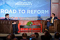 Senator of Florida Marco Rubio at Americans for Prosperity Road To Reform in Manchester, NH June 2015 by Michael Vadon 03.jpg