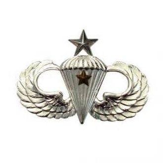 Jack L. Treadwell - Image: Senior parachutist badge 1 jump