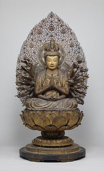 File:Senju Kannon The Thousand-Armed Bodhisattva Kannon.jpg