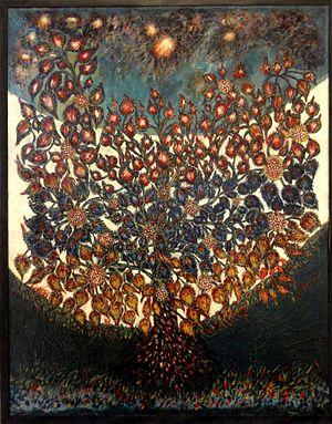 """Séraphine Louis - L'arbre de vie (""""The tree of life""""), 1928"""