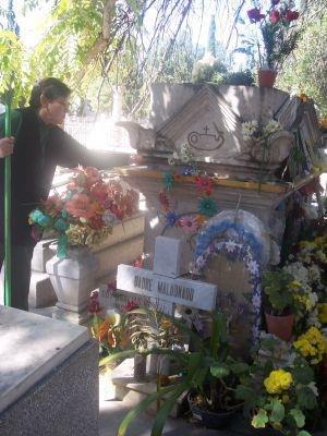 Peter of Jesus Maldonado - Tomb of Father Maldonado in the Cemetery of Dolores in Chihuahua
