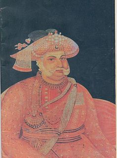 Serfoji II Maharaja of Thanjavur