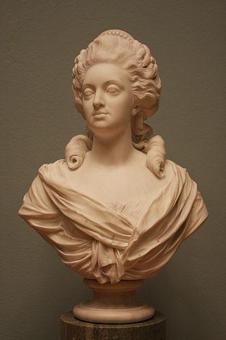 Johan Tobias Sergel - Sergel's bust of queen Sophia Magdalena of Denmark, 1783