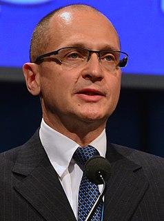 Sergey Kiriyenko Russian politician